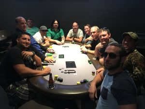 The Final Table at our DMD Poker Tournament
