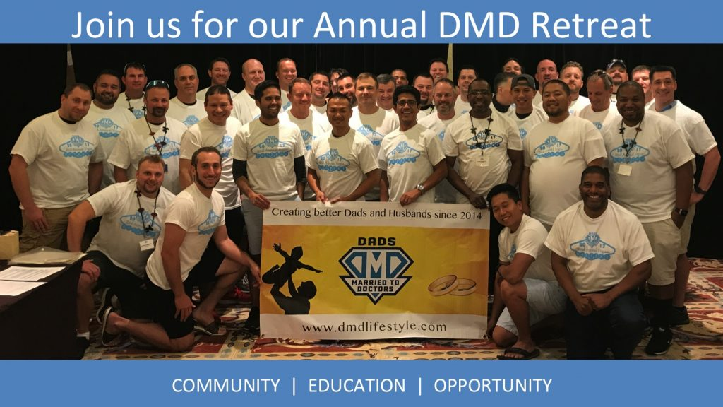 Click here for more info on the DMD Retreat